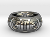 Cave Man Ring Size 10 3d printed
