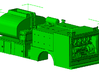 1/87th Fuel Lube truck body with reel detail set 3d printed