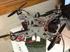 Mini Foldable Quadcopter Complete Frame Set (YD-5C 3d printed Note that this is NOT the actual model from Shapeways
