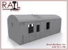 Train Heating Boiler Van - N Scale 3d printed Render of the 3D Model.