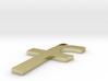 Facebook Logo Pendant 3d printed