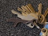 Bottle Opener Keychain 3d printed The steel bottle opener is strong but cheap