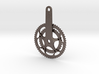 Chain Wheel pendent 3d printed