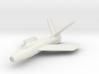 Republic XF-91 Thunderceptor (In flight) 6mm 1/285 3d printed