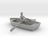 Row Boat #2 - HO 87:1 Scale 3d printed