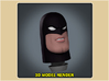 1:9 Scale Space Ghost Head 3d printed