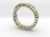 Twisted Bond Ring Size14 (23mm) 3d printed