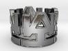 WAI Symbol Ring Size 11 3d printed