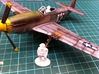 P51 Mustang Pilots,1/56 scale,28mm wargames 3d printed 1/56 scale P51 Mustang not included.