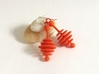 Honey Dripper Earrings 3d printed