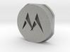 M emblem - free download 3d printed