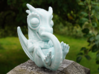 Porcelain Dragon Baby Large 3d printed