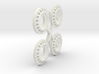S05-SI1 4WD Wheel Inserts Lancia OZ Rally 3d printed