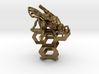 Western Honey Bee Ring 3d printed Bronze Ring - Digital Render