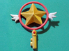 Cosplay Sakura Clow key Star 3d printed painted key
