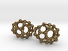 C30 Buckyball earrings 3d printed