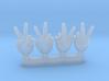 V Finger Hand Conversion 3d printed