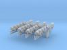 Sleeper Simulant (1:18 Scale) 4 Pack 3d printed