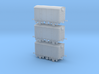 3 Pack - VEA with Chassis - N Scale 3d printed