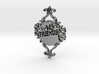 Special Friends Pendant  3d printed