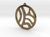 Tribal Earring/Pendant 3d printed
