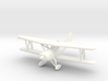 Great Lakes 2T-1A Biplane in 1/96 scale 3d printed