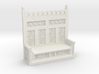 Monks Bench  3d printed