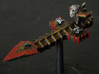 Aotrs201 Spiritwrack Escort Cruiser (V2) 3d printed Painted model (V1; Skull by Games Workshop)