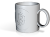 Small Bitcoin Mug 3d printed
