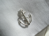 Anchor Cufflinks 3d printed