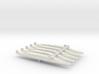 FS Redoutable-class SSBN x 5, 1/2400 3d printed