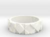 Futuristic Rhombus Ring Size 4 3d printed