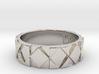 Futuristic Rhombus Ring Size 11 3d printed