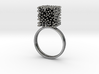 Constantina Architectural Coral Ring 3d printed