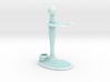 Combo Razor and Brush Stand 3d printed