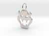 Bowser Pendant 3d printed