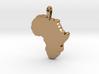 Mapa Mudo de Africa 3d printed