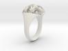 Rosette Ring 3d printed