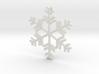 Snowflakes Series II: No. 8 3d printed