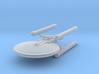 1/2500 - Tessera Cruiser (hollow nacelles) 3d printed