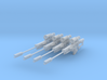 Efrideets Spear (1:18 Scale) 4 Pack 3d printed
