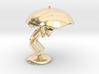 Lele with Umberlla - DeskToys 3d printed