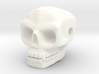 Skull bead (Side threading) 3d printed