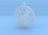 Christmas tree ornament - Bird 3d printed