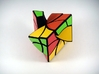 Curvy Jumble Prism Puzzle 3d printed Two Turns