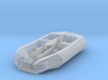 Battletech Civilian five seat Hovercraft 3d printed
