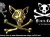 PIRATE-CATS The LOGO!!!! 3d printed Newest version, better nose, and some more fine details!