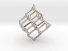 'Diamond' Earring -1mm diameter stuts 3d printed