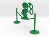 """Lala """"Walking in rope & throwing rings"""" - DeskToys 3d printed"""