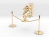 "Lala ""Walking in rope & balancing wine glass"" - De 3d printed"